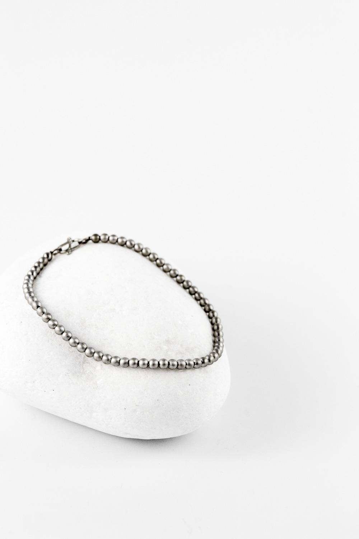 Bracelet All Spheres, Silver