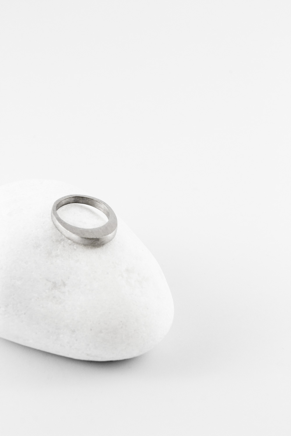 Ring Oval, Silver