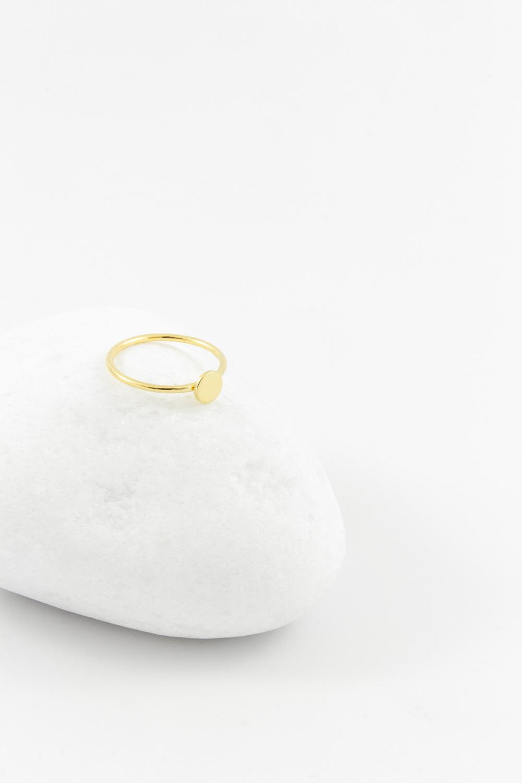 Ring 2C Dot, Silver