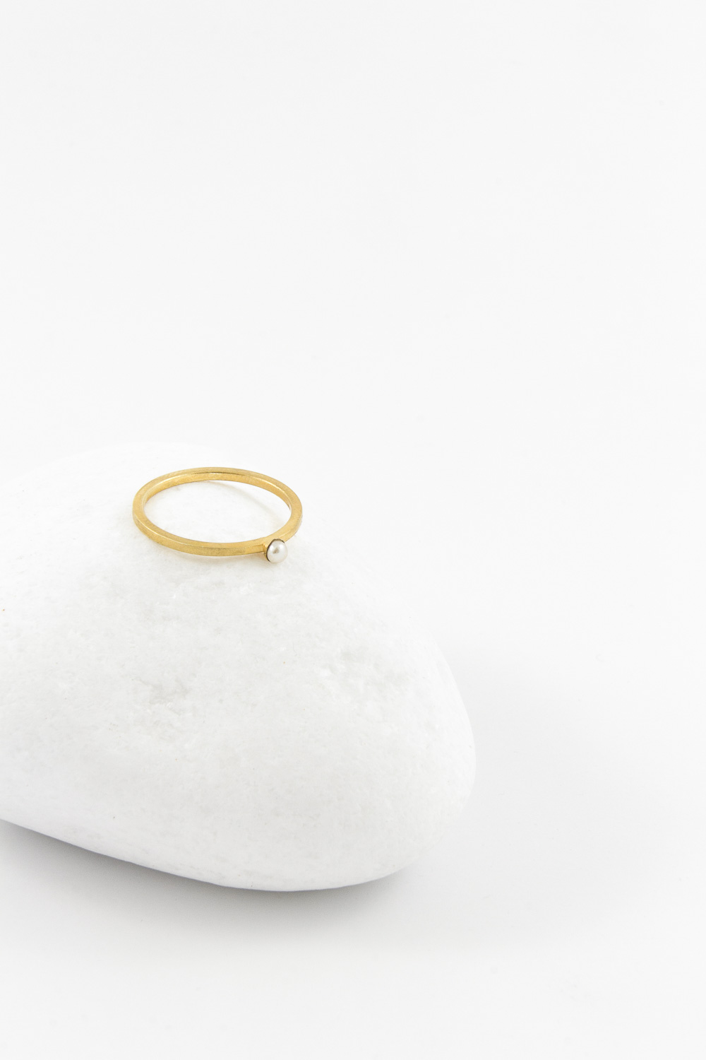 Ring Pearl, Gold