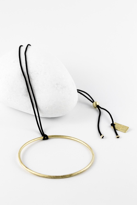 Necklace Magic Circle, Gold