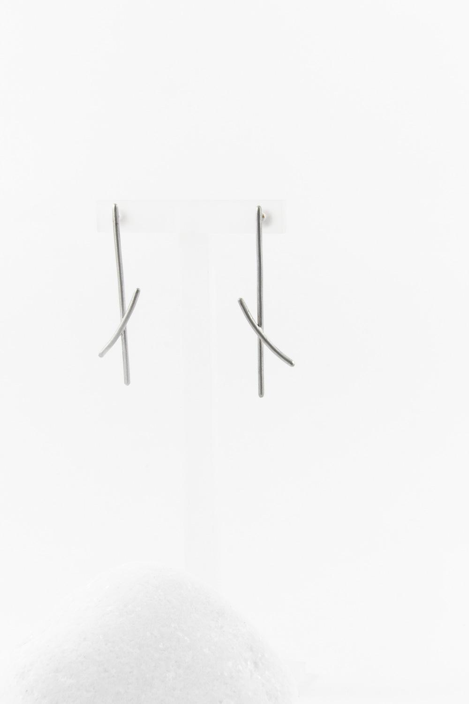 Earrings Kaito, Silver