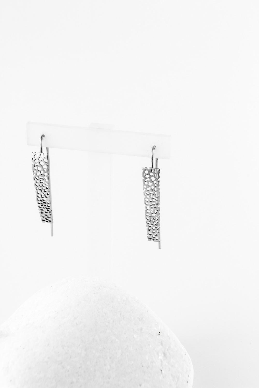 Earrings Perfor, Silver