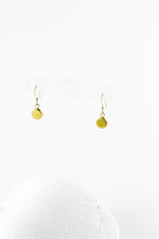 Earrings Dot Mini, Gold