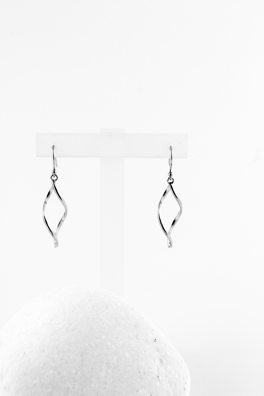 Earrings Endless, Silver