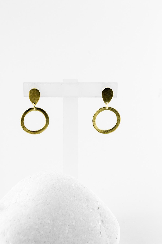 Earrings Drop, Gold