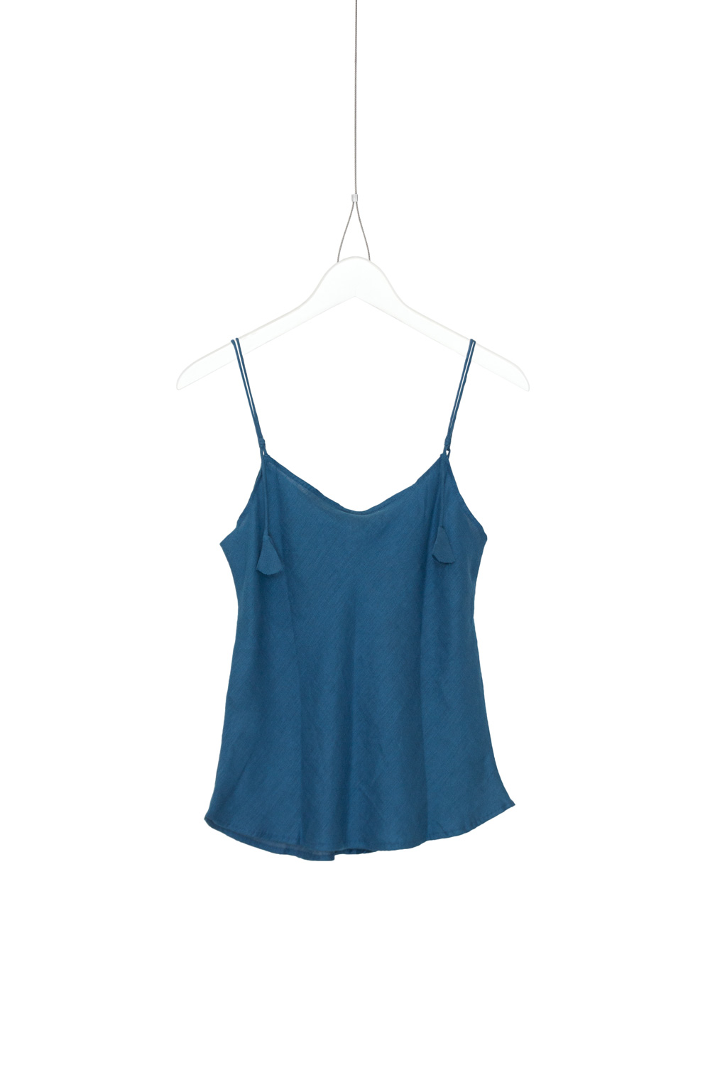 Top Tira, Petrol Dark Blue