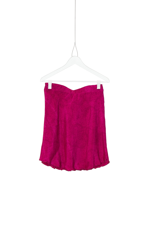 Skirt Wave Silk, Fuchsia