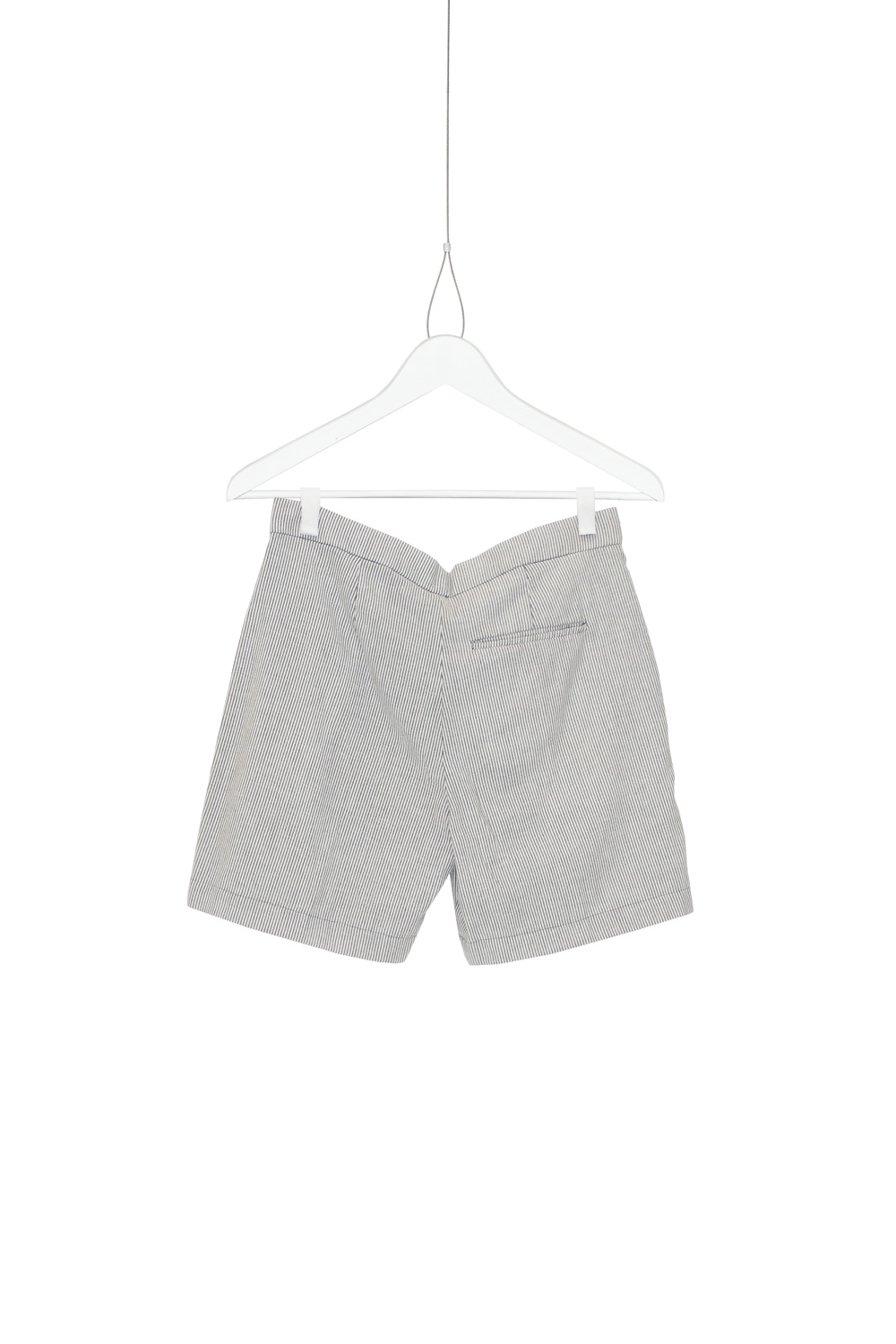 Shorts Bermuda Navy, Grey / White