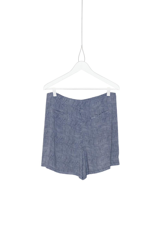 Shorts Dan Fun, Blue / White