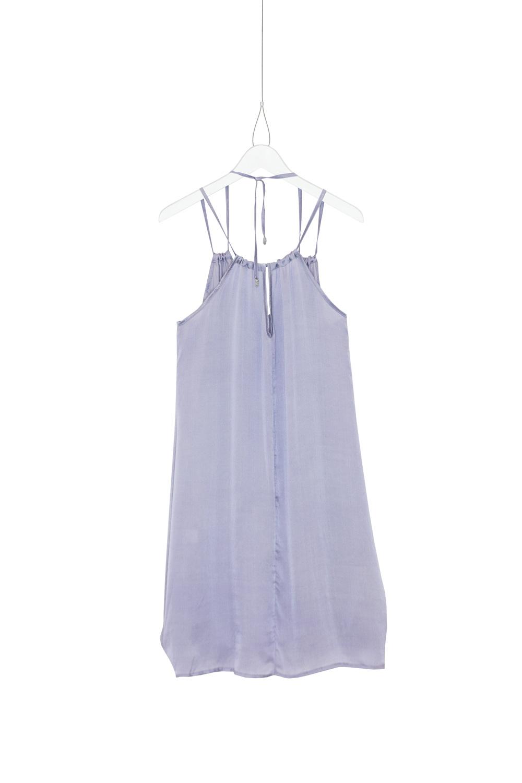 Dress Freedom Silk, Lilac, back