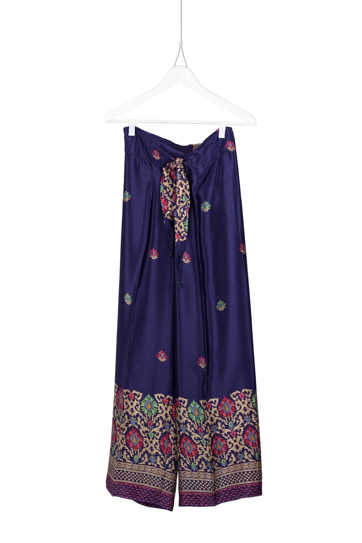 Pants Dia Silk, Purple