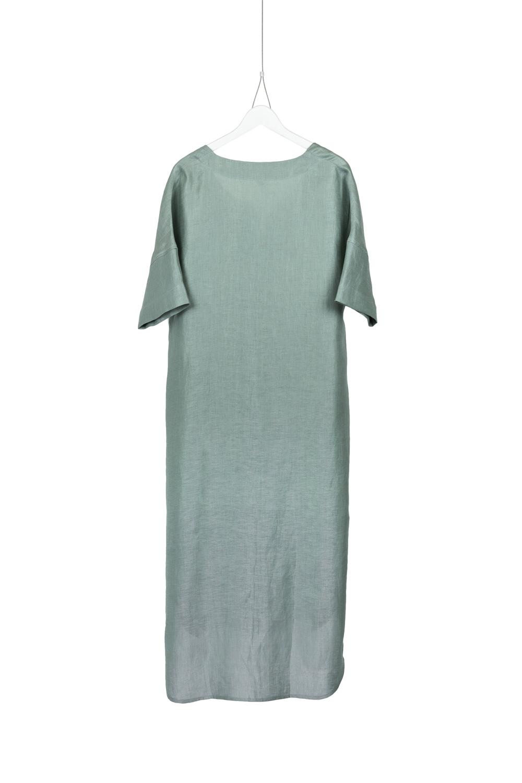 Dress Lana, Green Blue