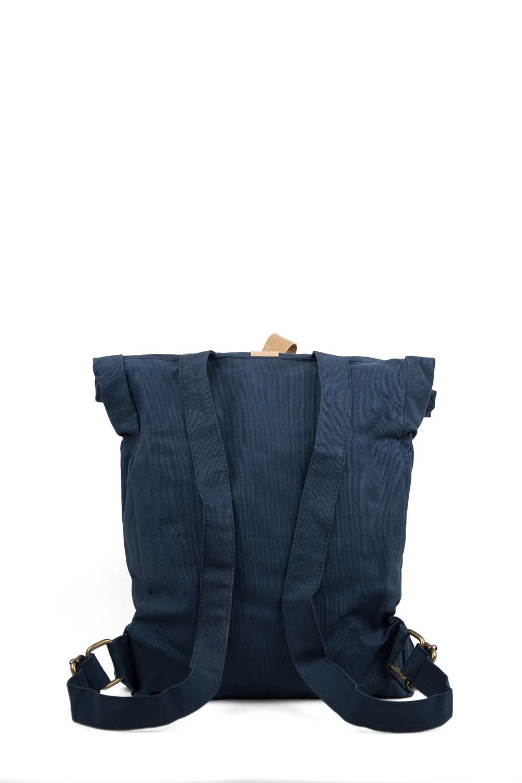 Backpack Line, Dark Blue / Natural