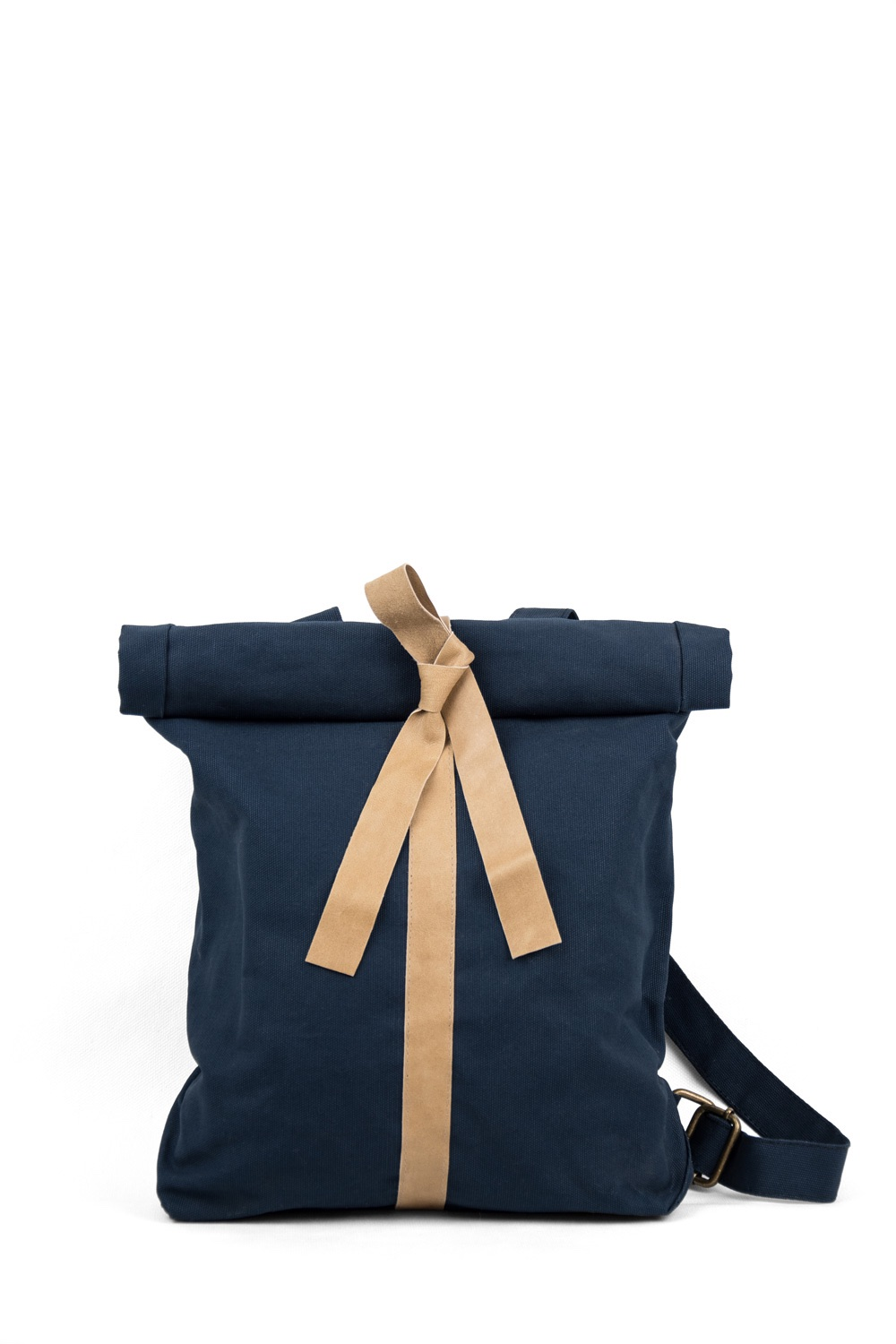 Backpack Line, Dark Blue / Natural