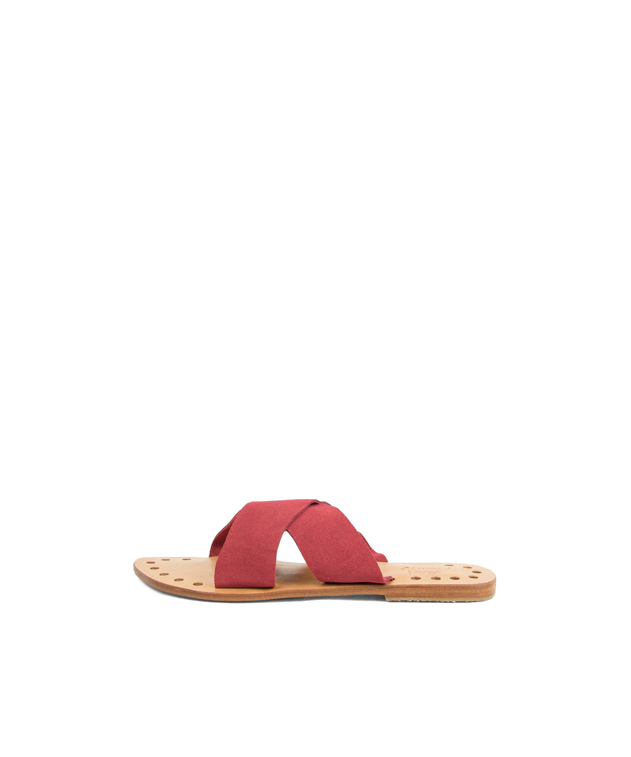 Sandals X, Coral Red