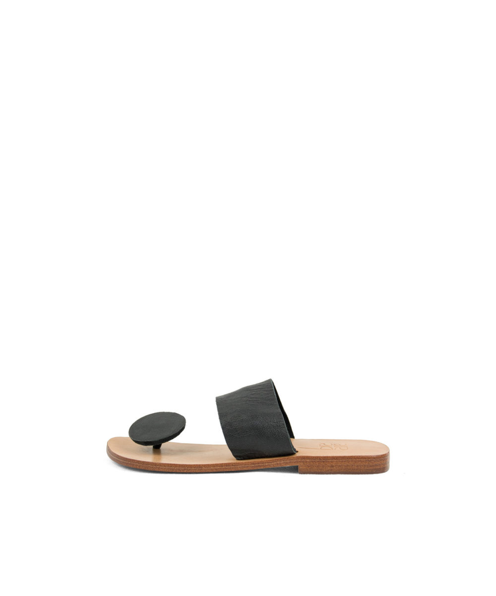 Sandals Button, Black