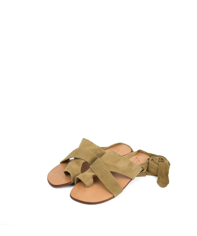 Sandals Juno, Camel